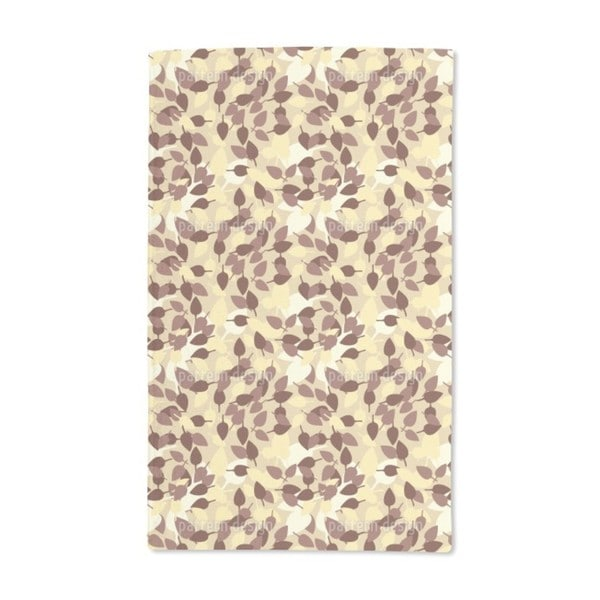 In the Leaf Forest Hand Towel (Set of 2)