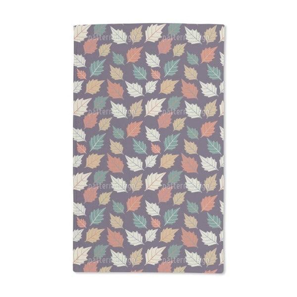 Leaf Bohemian Hand Towel (Set of 2)