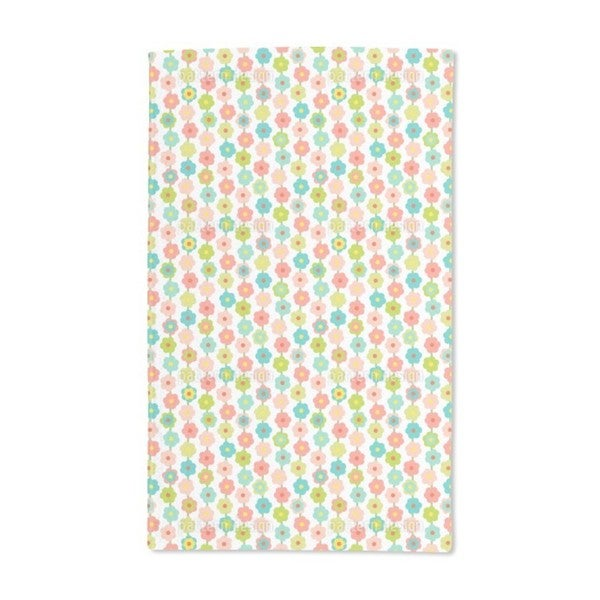 Flower Curtain Hand Towel (Set of 2)