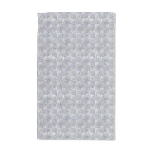 Cool Squares Hand Towel (Set of 2)