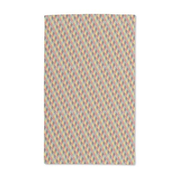 Diamond Arena Hand Towel (Set of 2)