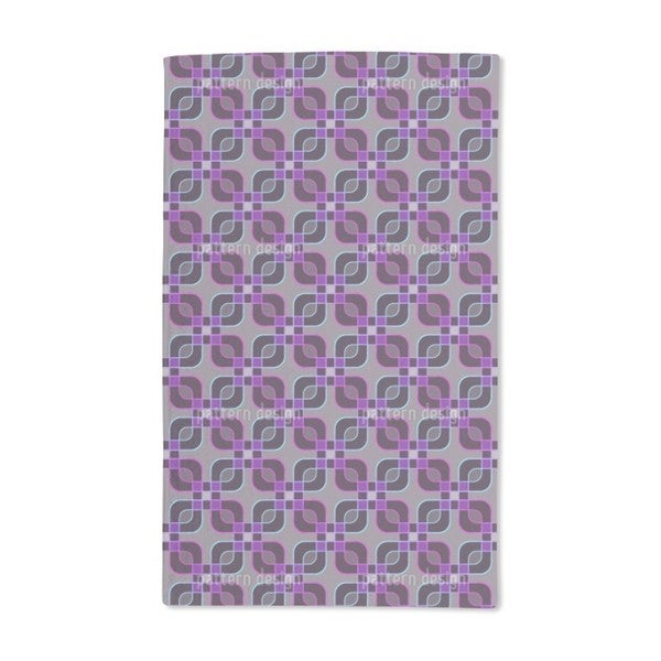 Square Crossing Hand Towel (Set of 2)