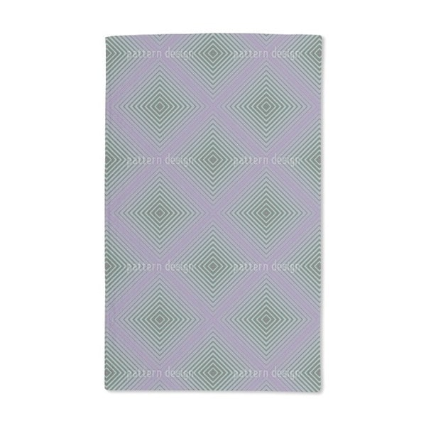 The Inner Squares Hand Towel (Set of 2)