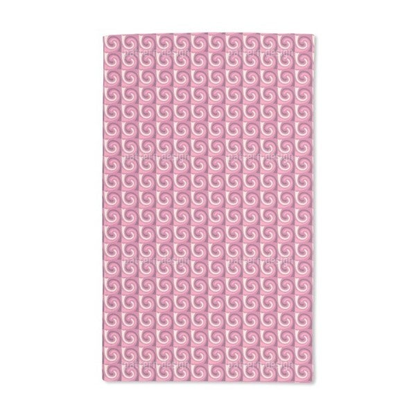 Marshmallow Waves Hand Towel (Set of 2)