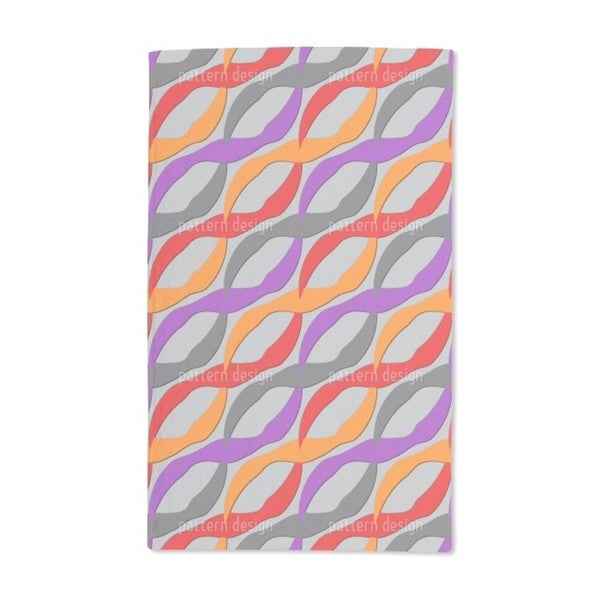 Color Waves Hand Towel (Set of 2)