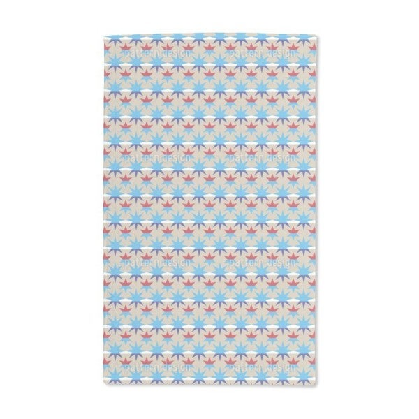 Stripes and Stars Hand Towel (Set of 2)
