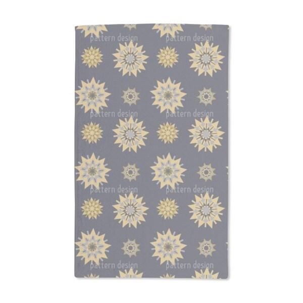 Retro Star Romance Hand Towel (Set of 2)