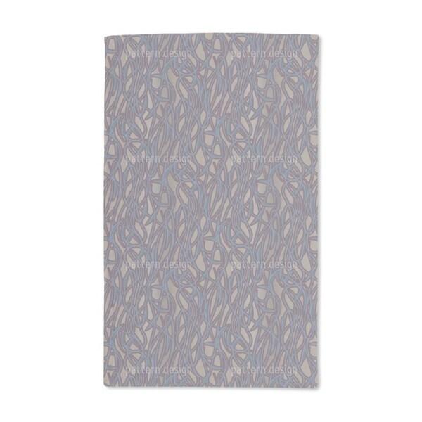Art Nouveau Mysterious Hand Towel (Set of 2)