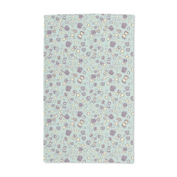 Circles in Sight Hand Towel (Set of 2)