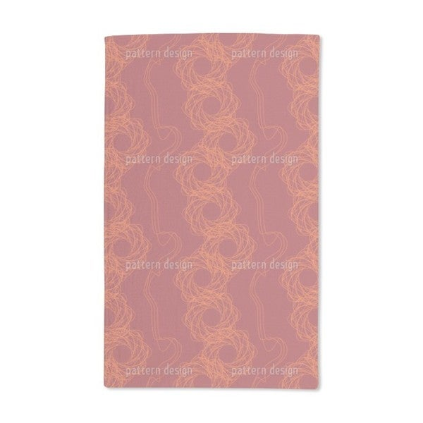 Abstract Lines Hand Towel (Set of 2)