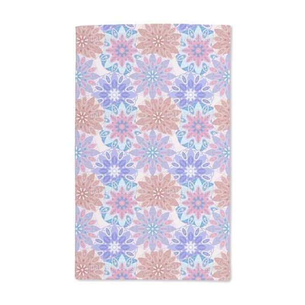 Flower Mandala Dream Hand Towel (Set of 2)
