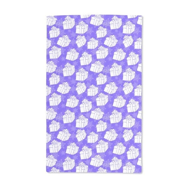 Winter Gift Boxes Hand Towel (Set of 2)