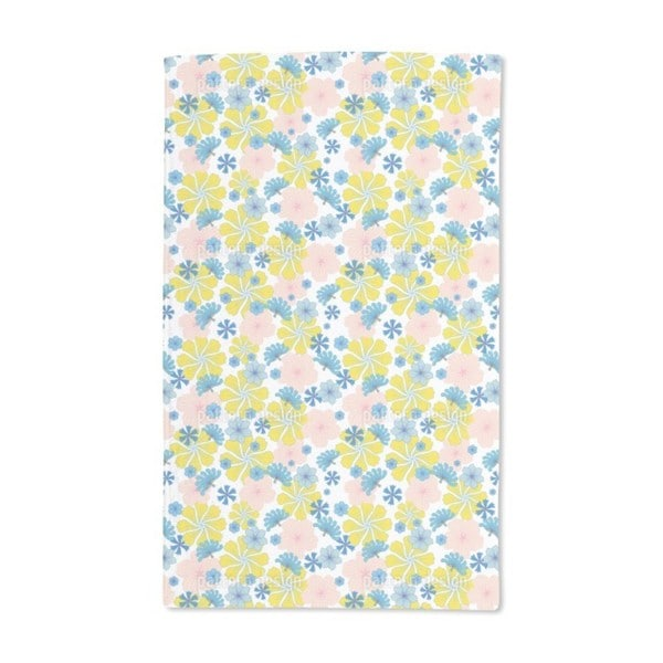Let It Bloom Again Hand Towel (Set of 2)