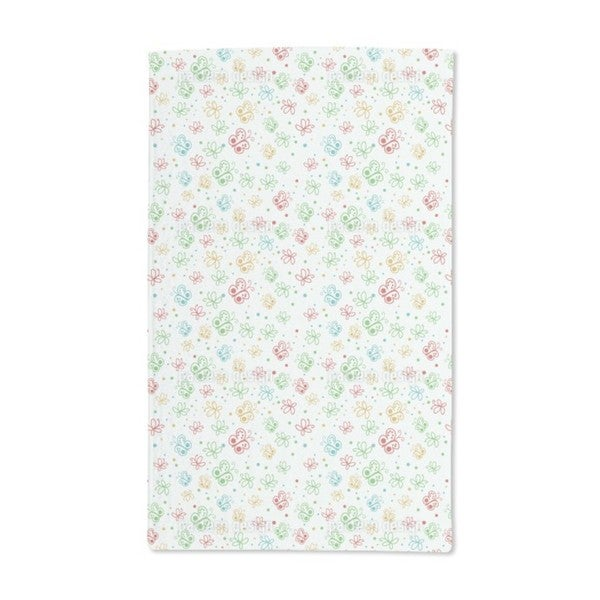 Butterfly Springtime Hand Towel (Set of 2)