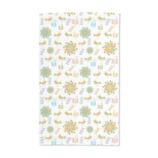 In the Bird Paradise Hand Towel (Set of 2)