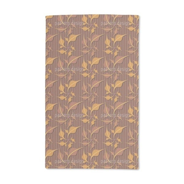 Foliage Elegance Hand Towel (Set of 2)