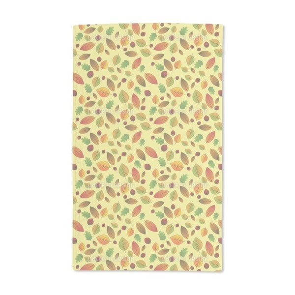Changing Leaves Hand Towel (Set of 2)
