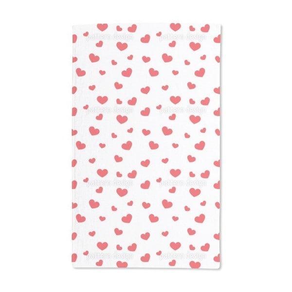 Big and Small Hearts Hand Towel (Set of 2)