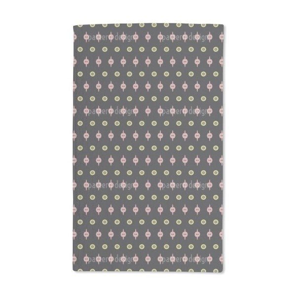 Simply With Dots Hand Towel (Set of 2)