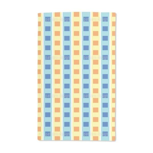 Squares on Elevators Hand Towel (Set of 2)