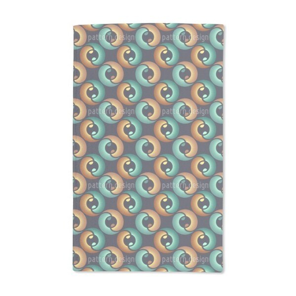 In the Eye of Yin and Yang Hand Towel (Set of 2)