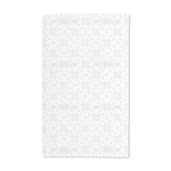 Stone Drops Into Water Hand Towel (Set of 2)