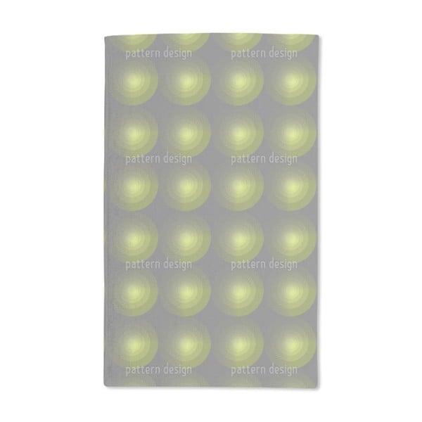 Green Beam Hand Towel (Set of 2)