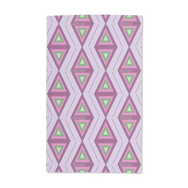 The Colors of the Triangles Hand Towel (Set of 2)