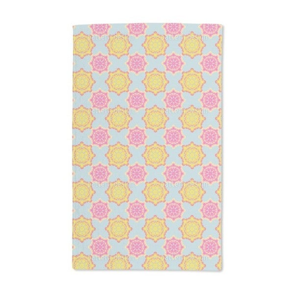 Flower Power Connection Hand Towel (Set of 2)