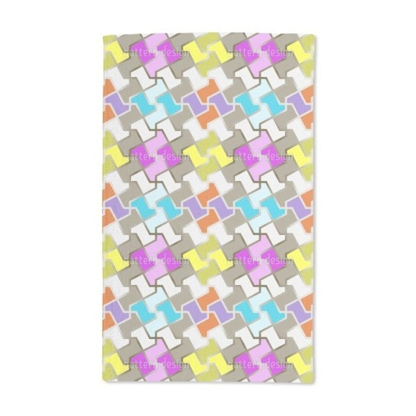 Funny Puzzle Hand Towel (Set of 2)