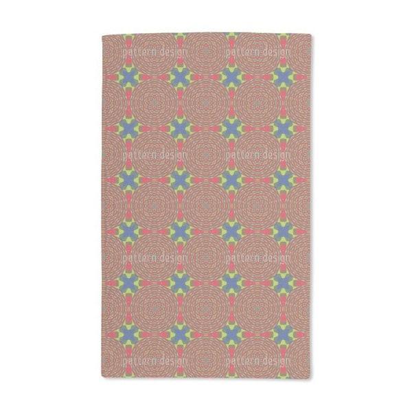 Kaleidoscope Clutter Hand Towel (Set of 2)