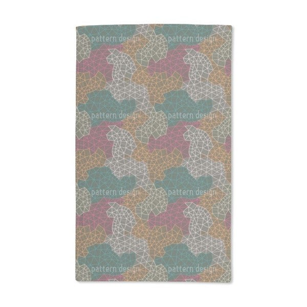 Mappers Network Hand Towel (Set of 2)