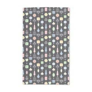 Jewelry Curtain Hand Towel (Set of 2)