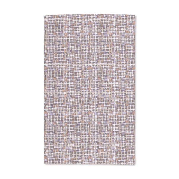 Retro Drop Maze Hand Towel (Set of 2)