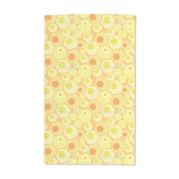 Retro Combs Hand Towel (Set of 2)