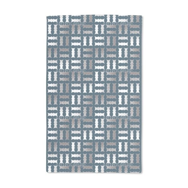 Pointilized Weave Hand Towel (Set of 2)