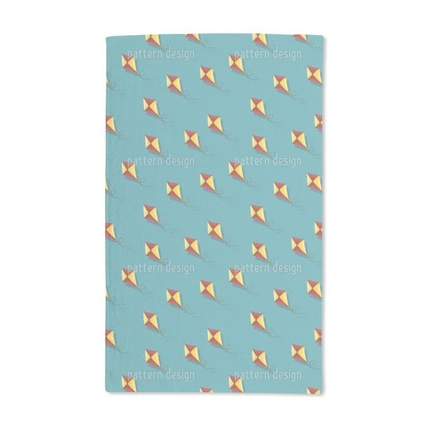 Kites Fly Hand Towel (Set of 2)
