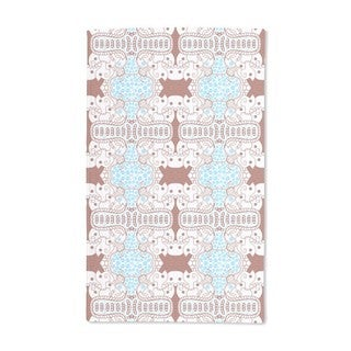 Abstract on the Pool Hand Towel (Set of 2)