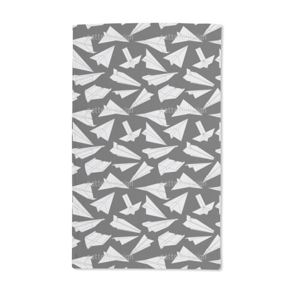 Paper Gliders in Action Hand Towel (Set of 2)