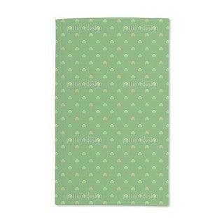 St. Patrick's Clover Hand Towel (Set of 2)