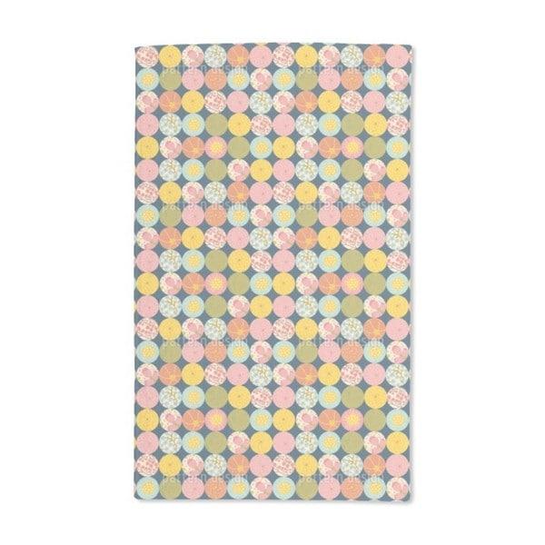 Polka Dot Flora Hand Towel (Set of 2)