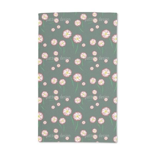 Gerbera Blossoms Hand Towel (Set of 2)