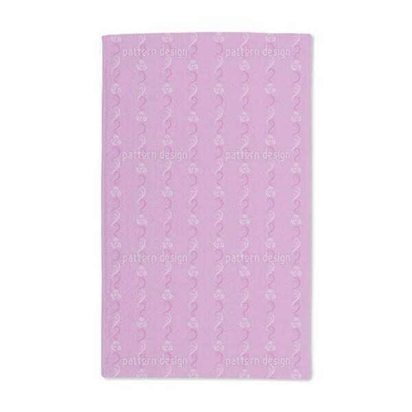 Flower Folklore Hand Towel (Set of 2)