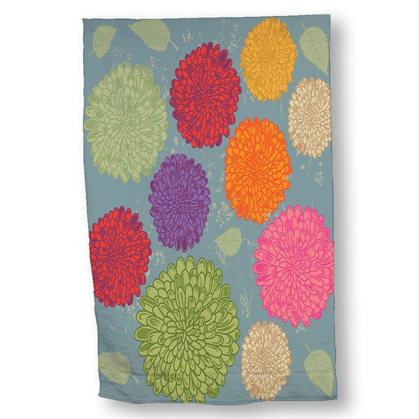 Dahlias Hand Towel