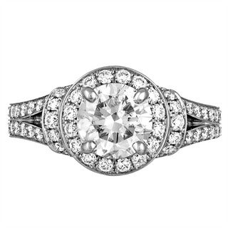 Platinum 2 1/2ct TDW Diamond Engagement Ring By Life More Dazzling (I-J, SI2-I1)