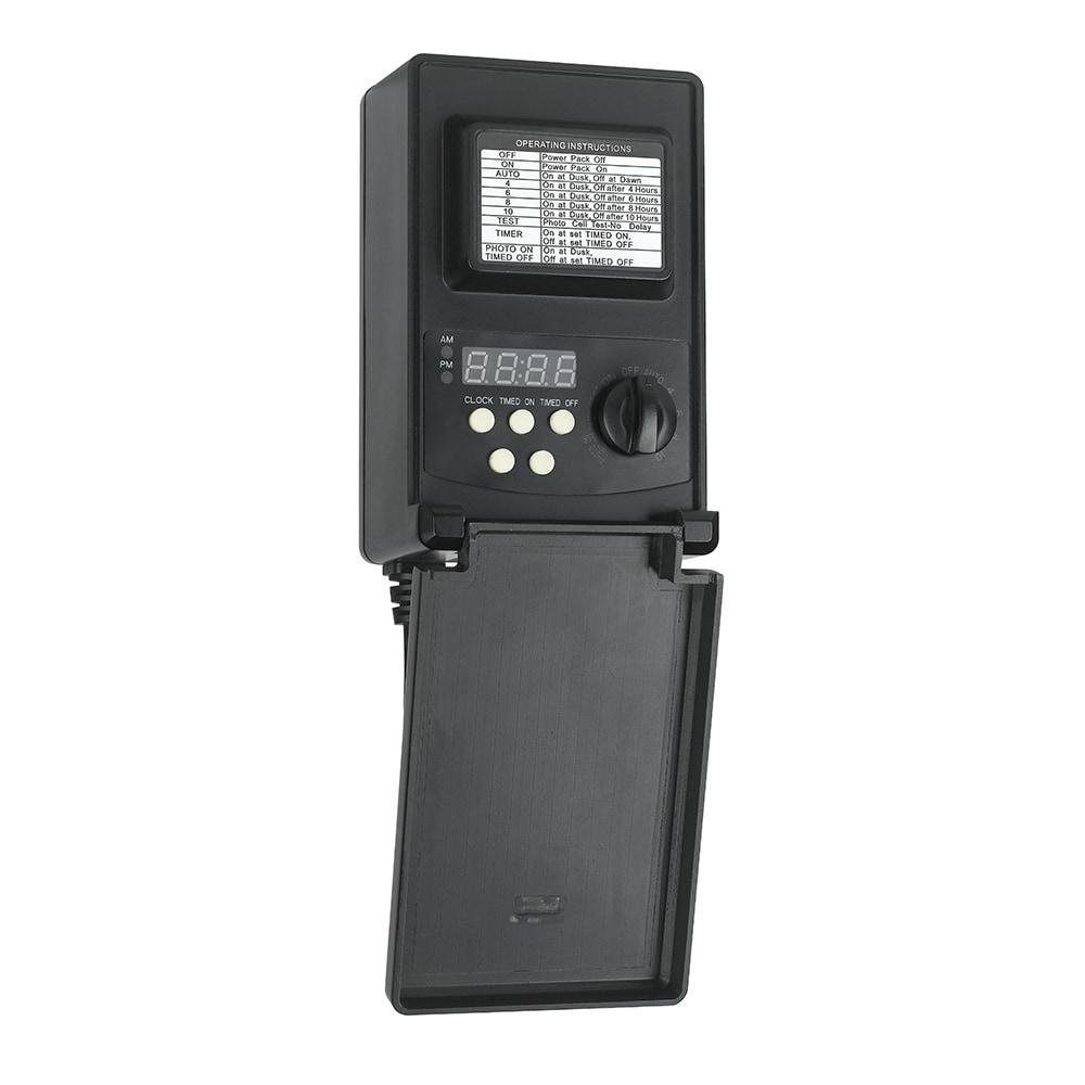 Maximus Low-voltage 45-watt Black Plastic Digital Transfo.  sc 1 st  Nextag & 600 watt landscape transformer | Compare Prices at Nextag azcodes.com