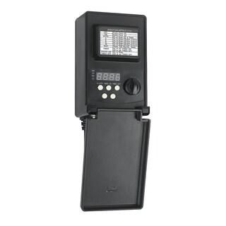 Low-voltage 45-watt Black Plastic Digital Transformer