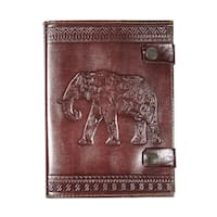 Handmade Impressions of India Journal - Elephant (India)