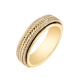 Goldplated Brass Braided Band (4 options available)