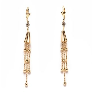 Peermont Jewelry 18k Yellow Goldplated Drop Earrings
